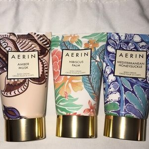 Aerin travel body cream set